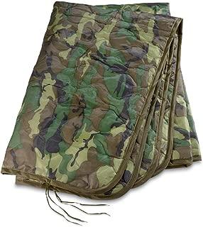 Military Style Poncho Liner Blanket - Woobie (Woodland Camo)
