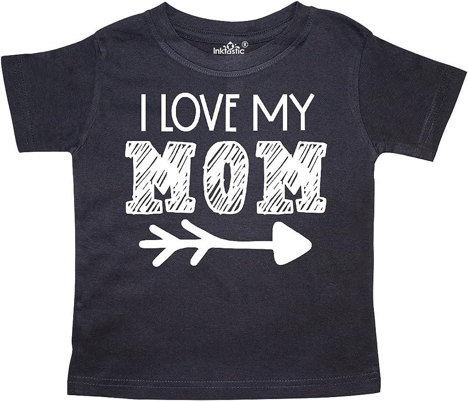 I Love My Mom- Arrow Toddler T-Shirt