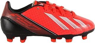 adidas F10 TRX FG Junior Soccer Cleats - Infrared/Running White/Black (Boys) - 3.5