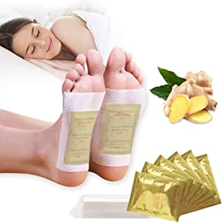Foot Pads,Kapmore 100pcs Foot Pads for Anti-Stress Relief, Sleeping,Natural Cleansing Foot Pads for Foot Car with 100Pcs A...