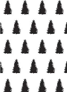 Transparente Template Leaves Circles Evergreen Darice Embossing Folder A6