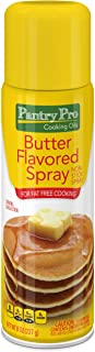 Pantry Pro Butter Cooking Spray, 8 Fluid Ounce (Pack of 4)