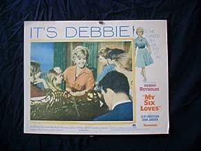 MOVIE POSTER: MY SIX LOVES-1963-DEBBIE REYNOLDS-ORIGINAL 11x14 LC #6 G/VG