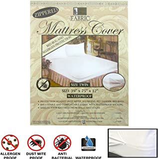 Bedding 6x Twin Size Bed Mattress Cover Zipper Plastic Waterproof Bed Bug Protector Mite Other Bedding