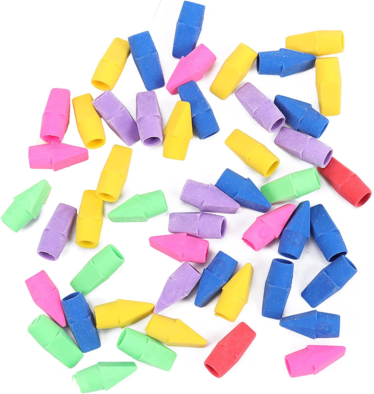 30 Pack Pencil Max 56% OFF Erasers Set Colorful Sale Pen Re Cap Eraser Top
