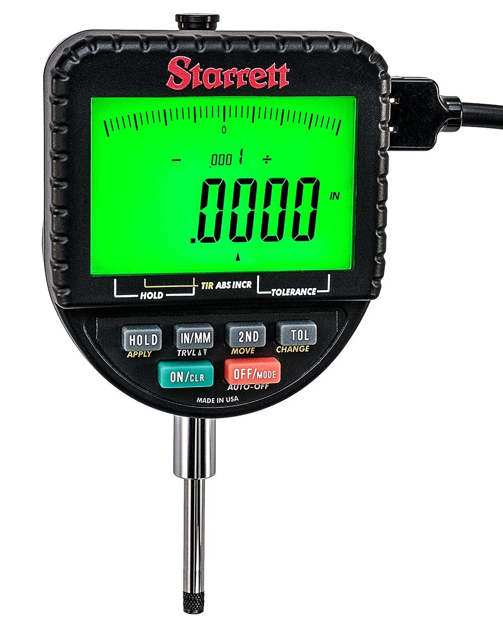 Starrett 2700-800 Backlight Tampa Mall Electronic Indicator R with Deluxe 1
