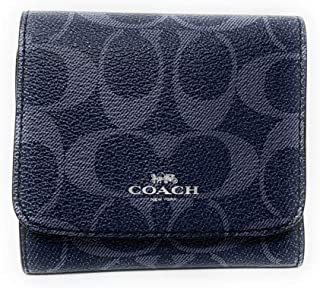 COACH WOMENS SMALL WALLET IN SIGNATURE CANVAS F57982