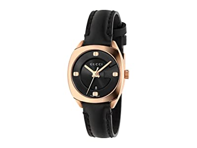 Gucci GG2570 YA142509 (Black/Black) Watches