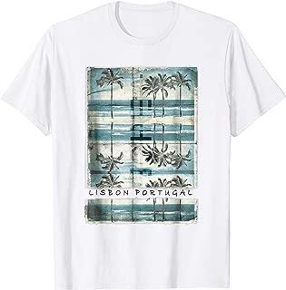 Lisbon Tshirt Portugal Shirt Mediterranean Tee Men Women Kid