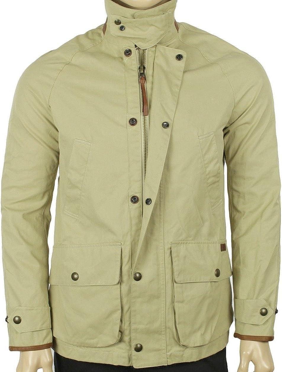 Ralph Lauren Mens Twill Coat Large Khaki