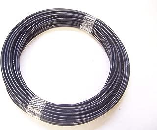 Black Nylon Coated Galvanized Cable, 1/8