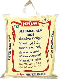 PRIYA FOODS Jeerakasal Rice, 5 kg