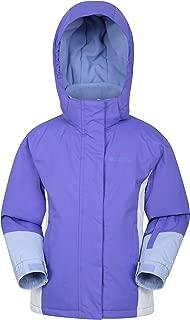 Mountain Warehouse Honey Kids Ski Jacket - Winter Snow Coat for Snowboarding