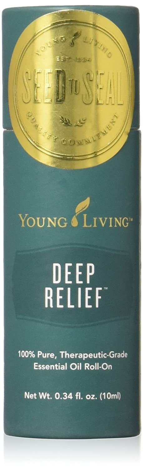 Deep Relief Essential Oil Roll-On Topical Max 48% OFF by Living Young Store