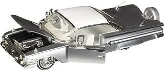 Jada 1:24 - Street Low: Lowrider Series - 1960 Chevrolet Impala - MiJo Exclusives (Silver)