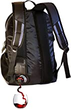 PortoVino DayPack (Black), Backpack with 1.5 liter party pouch reservoir