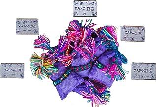Xapontic - Set de 10 jabones artesanales de 40gr con bolsa artesanal