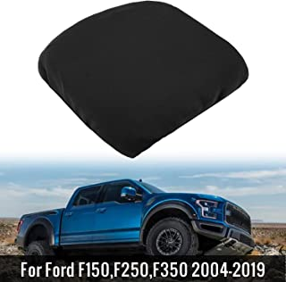 Seven Sparta Center Console Cover for Ford F150, F250, F350 2004-2019, Waterproof Anti-Scratch Car Console Cover, Center Console Armrest Protector, Your Console Lid Must Open and Match Photo Shown