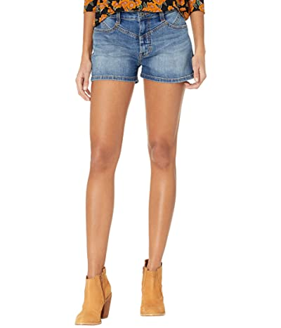 Rock and Roll Cowgirl High-Rise Denim Shorts in Medium Vintage 68H8201 (Medium Vintage) Women