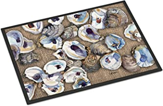 "Caroline's Treasures 8734JMAT Oyster Indoor or Outdoor Doormat, 24"" x 36"", Multicolor"