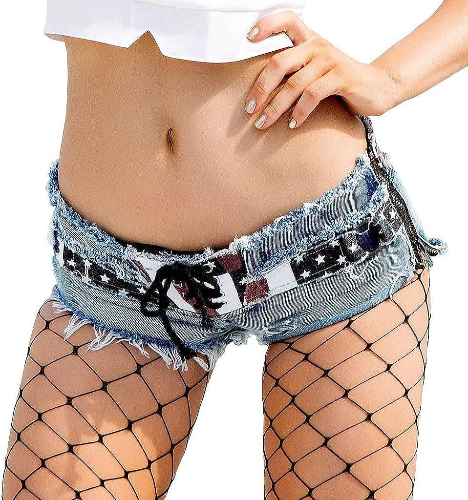 New Sexy Denim Shorts Hot Pants Ultra Short Women Sexy Ripped Holes Jeans Shorts