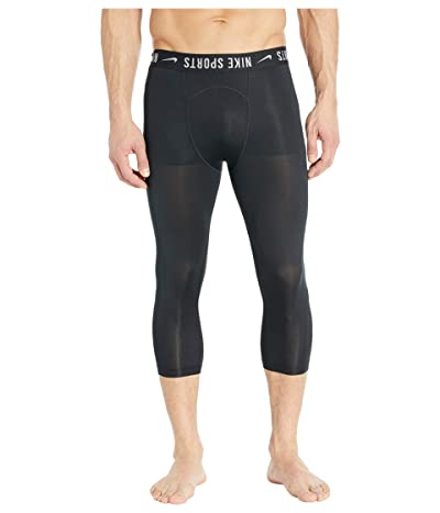 Nike Pro Tights OTK PX (Black/Black/Light Smoke Grey/White) Men