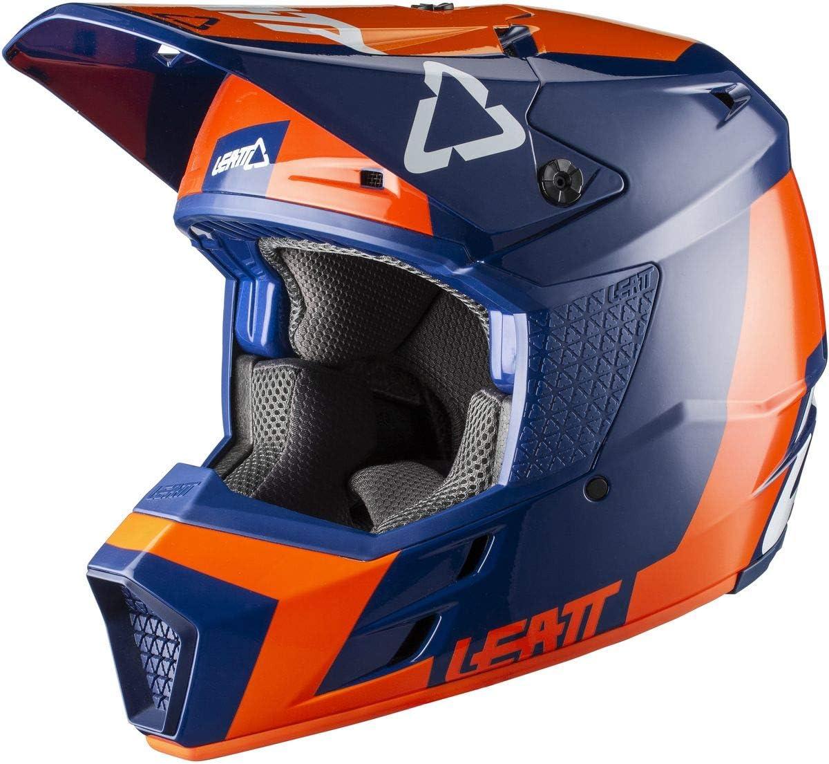 Leatt Brace Youth GPX 3.5 Junior V20.2 Helmet-Aqua-YM