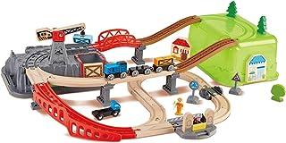 Hape Railway Bucket-Builder Toy Set (E3764)
