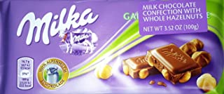 Milka Milk Chocolate with Whole Hazelnuts (Pack of 5)