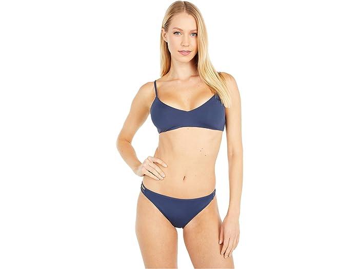 Envío de la gota Roxy Solid Beach Classics Moda Bottoms de bikini completo BmifN