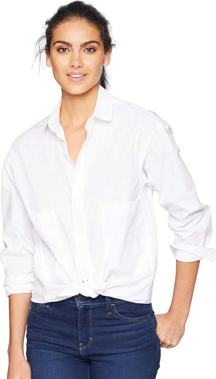 AG Adriano goldschmied Womens Shiro Shirt Button Down Shirt
