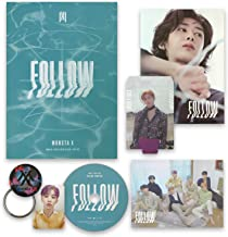 FOLLOW-FIND YOU [ IV ver. ] - MONSTA X 7th Mini Album CD + Photobook + Mini Poster + Lyrics + Photocard + Photostand + OFFICIAL POSTER + FREE GIFT / K-pop Sealed