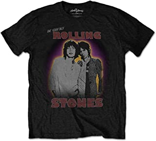 The Rolling Stones Mick Jagger Keith Richards 2 Oficial Camiseta para Hombre