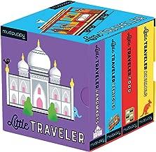 Mudpuppy Press Mudpuppy The Little Traveler Board Book Set