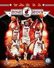 NBA Miami Heat 2012-2013 Team Composite Photo 8x10