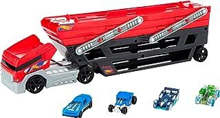Hot Wheels Mega Hauler and 4 Cars Set