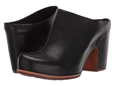 Kork-Ease Sagano (Black Full Grain Leather) Women