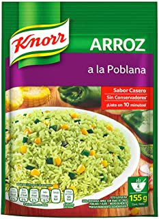 Knorr Arroz instantáneo A la Poblana, 155g
