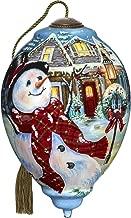 Ne'Qwa Old Fashioned Christmas Snowman Ornament