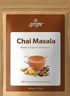 Go-Yogik Chai Masala | Spice blend of Ginger, Cardamom, Organic Ceylon Cinnamon, Organic Black Pepper, Organic Cloves, Org...