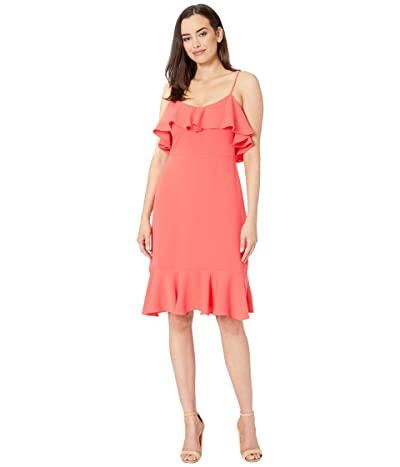 Trina Turk Mosey Dress (Coral Lily) Women