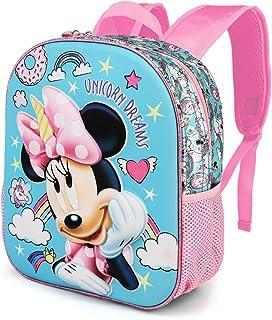 Minnie Mouse Unicornio - Mochila 3D Pequeña, Multicolor