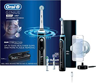 Oral-B Genius 9600 Electric Toothbrush, 3 Brush Heads, Black