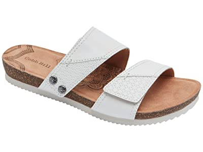 Cobb Hill Trinity Slide (White) Women
