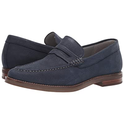 Sperry Gold Exeter Penny Loafer (Navy) Men