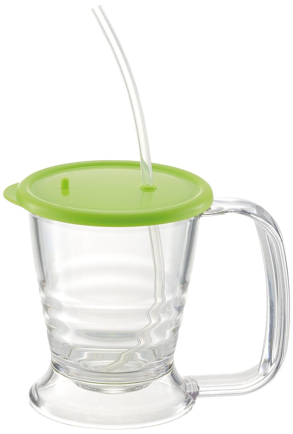 ドームオアシス憂慮すべきリッチェル 使っていいね!  2WAYマグカップ グリーン