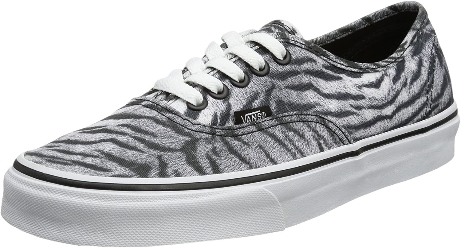 Vans Unisex Adults' U Authentic (Tiger) Black T Trainers