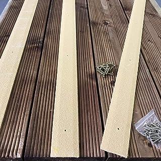 Tiras antideslizantes para terrazas, paquete de 20, 50 mm x