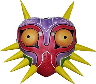 Majora Mask Zelda Colorful Latex Mask For Men Boys Halloween Costume Accessory