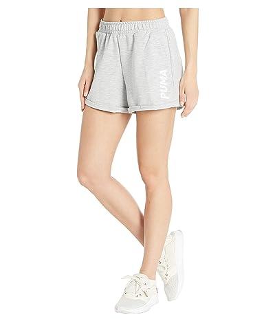 PUMA 3 Modern Sports Shorts (Light Gray Heather) Women